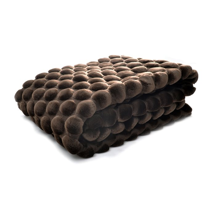 Brown Eggshell Throw 130x170