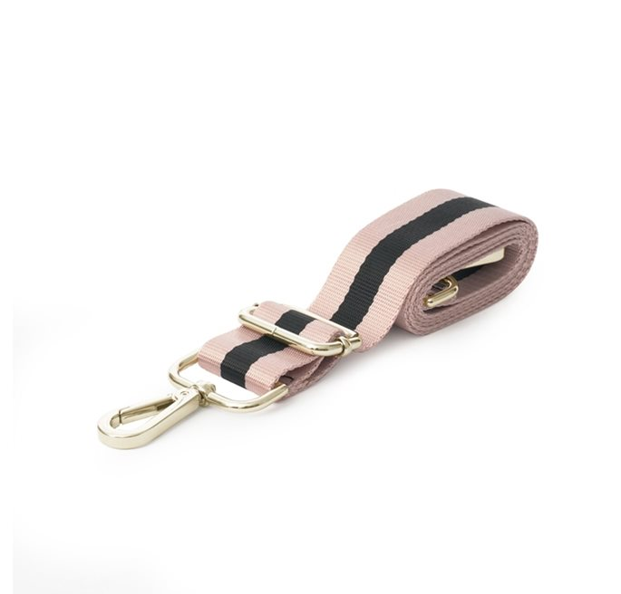 Shoulder Strap in Black/Pink Webbing (G)
