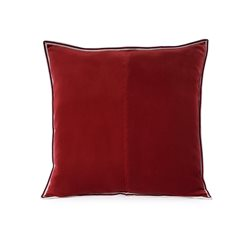 New Red Striped Edge Velvet C/c 50x50