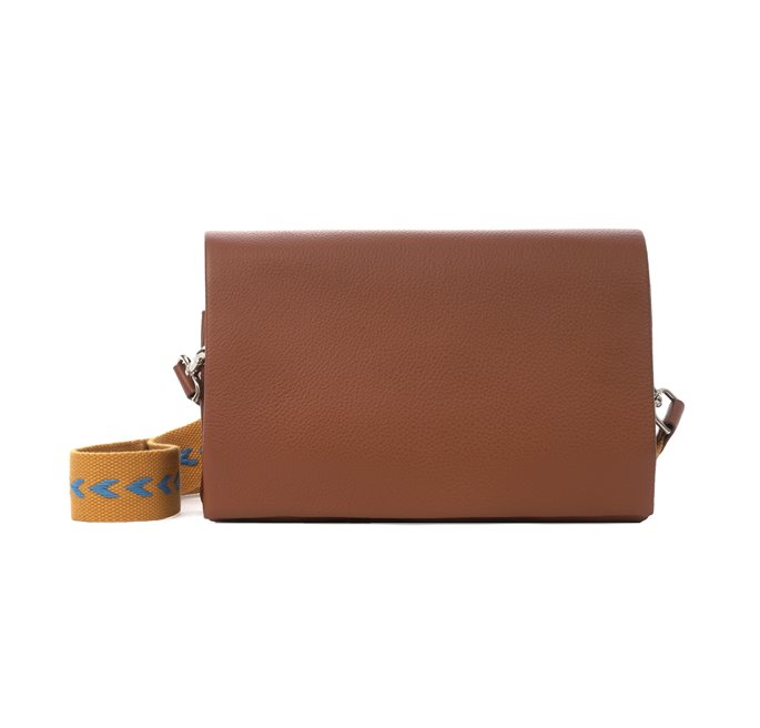 New strap leather Bag Camel